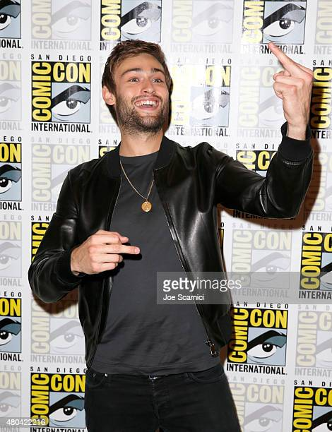 Actor Douglas Booth attends the Pride And Prejudice And Zombies photo call during ComicCon International 2015 at the Hilton Bayfront on July 11 2015...