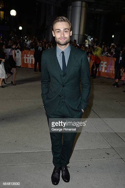 Actor Douglas Booth attends 'The Riot Club' premiere during the 2014 Toronto International Film Festival at Roy Thomson Hall on September 6 2014 in...