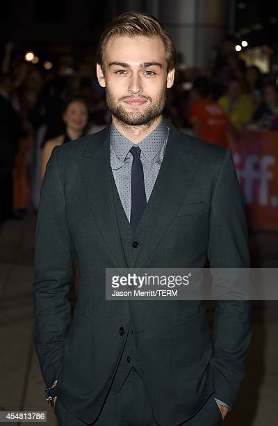 Actor Douglas Booth attends The Riot Club premiere during the 2014 Toronto International Film Festival at Roy Thomson Hall on September 6 2014 in...