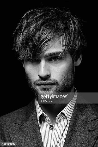 Actor Douglas Booth is photographed for a Portrait Session at the 2014 Toronto Film Festival on September 7 2014 in Toronto Ontario