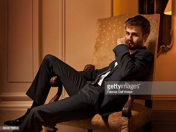 Actor Douglas Booth is photographed for Vanity Fair Italy on November 10 2013 in Rome at the Rome Film Festival Italy
