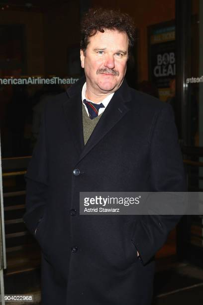 Actor Douglas Hodge attends 'John Lithgow Stories By Heart' opening night at American Airlines Theatre on January 11 2018 in New York City