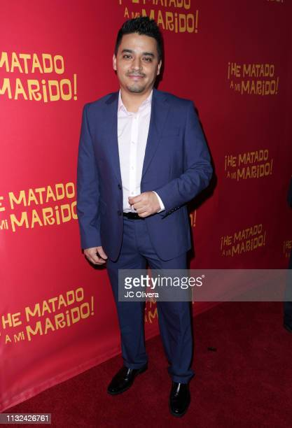 Actor Douglas Spain attends 'HE MATADO A MI MARIDO' Los Angeles Premiere at Harmony Gold Theatre on February 26 2019 in Los Angeles California