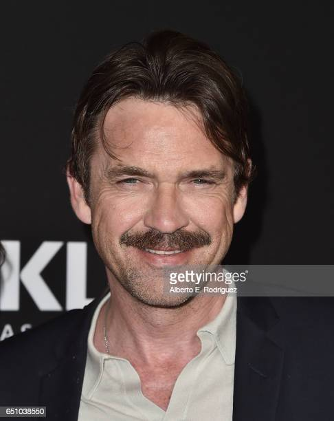 Actor Dougray Scott attends the premiere screening of Cackle's Snatch the series at Arclight Cinemas Culver City on March 9 2017 in Culver City...