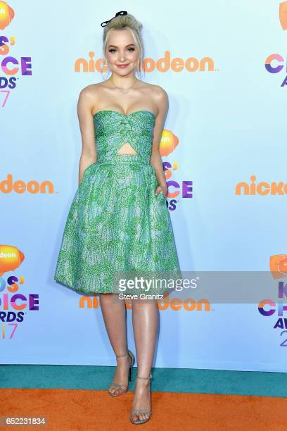 Actor Dove Cameron at Nickelodeon's 2017 Kids' Choice Awards at USC Galen Center on March 11 2017 in Los Angeles California