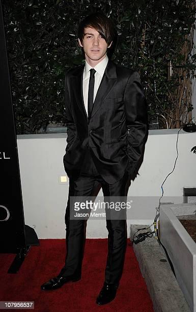 Actor Drake Bell arrives at Audi and Designer J Mendel's Kick Off Celebration of Golden Globe Week 2011 at Cecconi's Restaurant on January 9 2011 in...