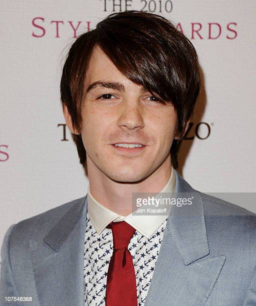 Actor Drake Bell arrives at the 2010 Hollywood Style Awards at Billy Wilder Theater at The Hammer Museum on December 12 2010 in Westwood California