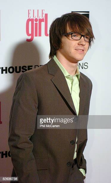 Actor Drake Bell arrives at the First Annual ELLEGIRL Hollywood Prom party held at the Hollywood Athletic Club on April 14 2005 in Hollywood...