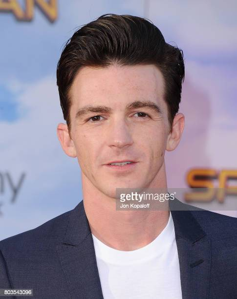 Actor Drake Bell arrives at the Los Angeles Premiere 'SpiderMan Homecoming' at TCL Chinese Theatre on June 28 2017 in Hollywood California