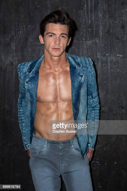 Actor Drake Bell is photographed for Flaunt Magazine on May 12 2017 in Los Angeles California