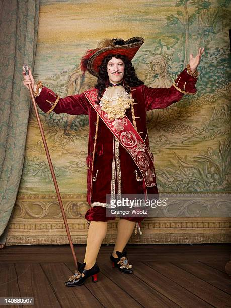 actor dressed in old-fashioned costume on stage - actress stock pictures, royalty-free photos & images