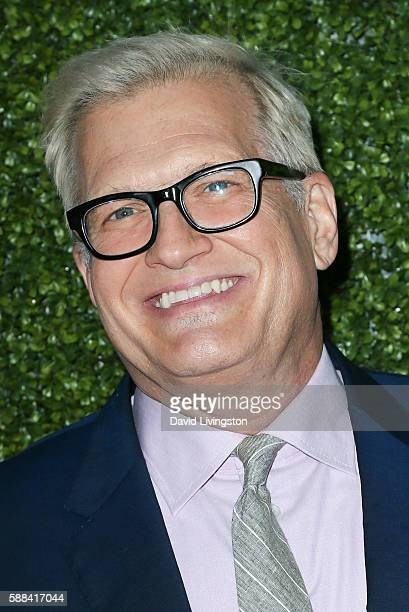 Actor Drew Carey arrives at the CBS CW Showtime Summer TCA Party at the Pacific Design Center on August 10 2016 in West Hollywood California