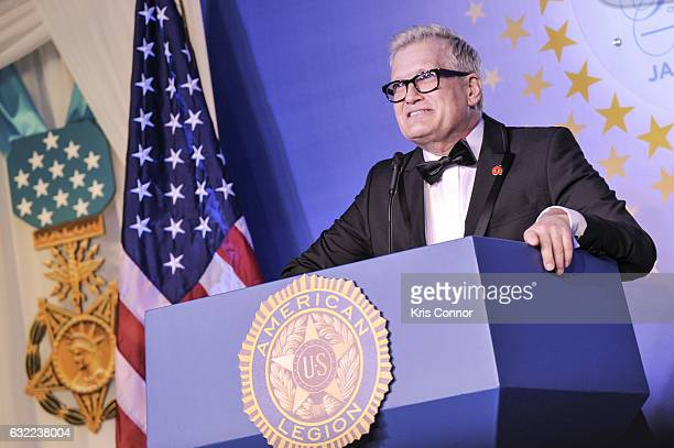 Actor Drew Carey attends the Veterans Inaugural Ball at The Renaissance Hotel on January 20 2017 in Washington DC