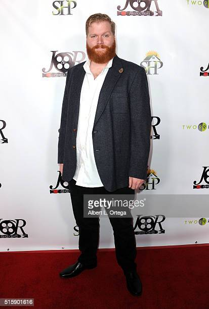 Actor Drew Davenport arrives for the Premiere Of JR Productions' Halloweed held at TCL Chinese 6 Theatres on March 15 2016 in Hollywood California