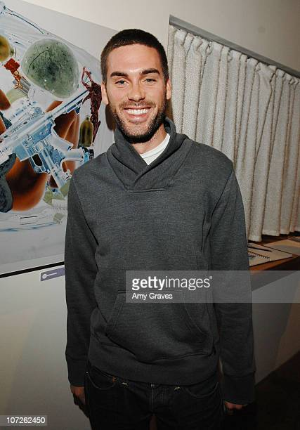 Actor Drew Fuller attends the Privacy Exhibit at The Red House Gallery on October 6 2007 in Venice California