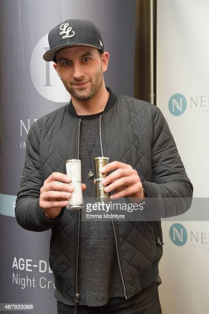 Actor Drew Nelson attends the 6th annual Premiere Celebrity Gift Style Lounge with Nerium International gifting their Optimera Formula products to...
