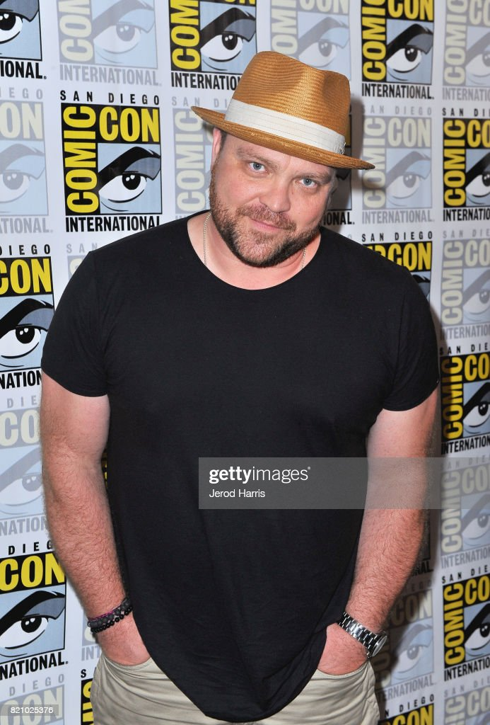 Actor Drew Powell at the 'Gotham' Press Line during Comic-Con International 2017 at Hilton Bayfront on July 22, 2017 in San Diego, California.