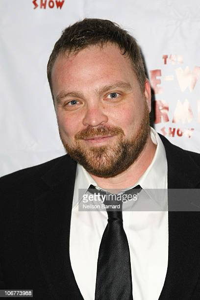 Actor Drew Powell attends the Broadway opening night after party of The PeeWee Herman Show at Bryant Park Grill on November 11 2010 in New York City