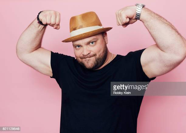 Actor Drew Powell from FOX's 'Gotham' poses for a portrait during ComicCon 2017 at Hard Rock Hotel San Diego on July 22 2017 in San Diego California
