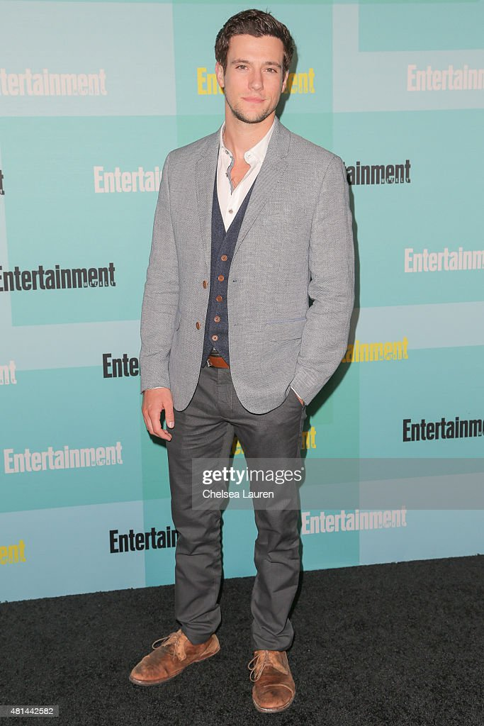 Actor Drew Roy arrives at the Entertainment Weekly celebration at Float at Hard Rock Hotel San Diego on July 11, 2015 in San Diego, California.