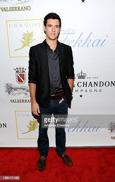 Actor Drew Roy arrives at the second night of the grand opening party of Fig & Olive Melrose Place on March 3, 2011 in West Hollywood, California.
