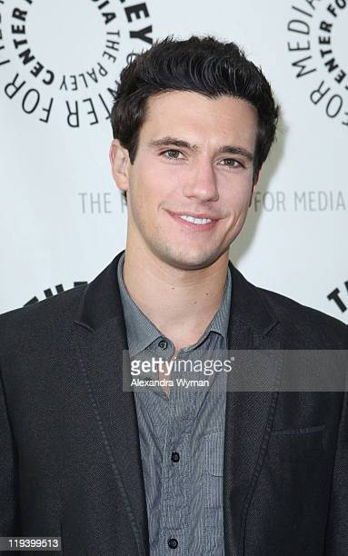 """Actor Drew Roy at an evening with """"Falling Skies"""" hosted by the Paley Center for Media held at The Paley Center for Media on July 19, 2011 in Beverly..."""