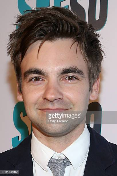 Actor Drew Tarver attends the premiere of Seeso's Bajillion Dollar Properties Season 2 at The Theatre at Ace Hotel on October 5 2016 in Los Angeles...