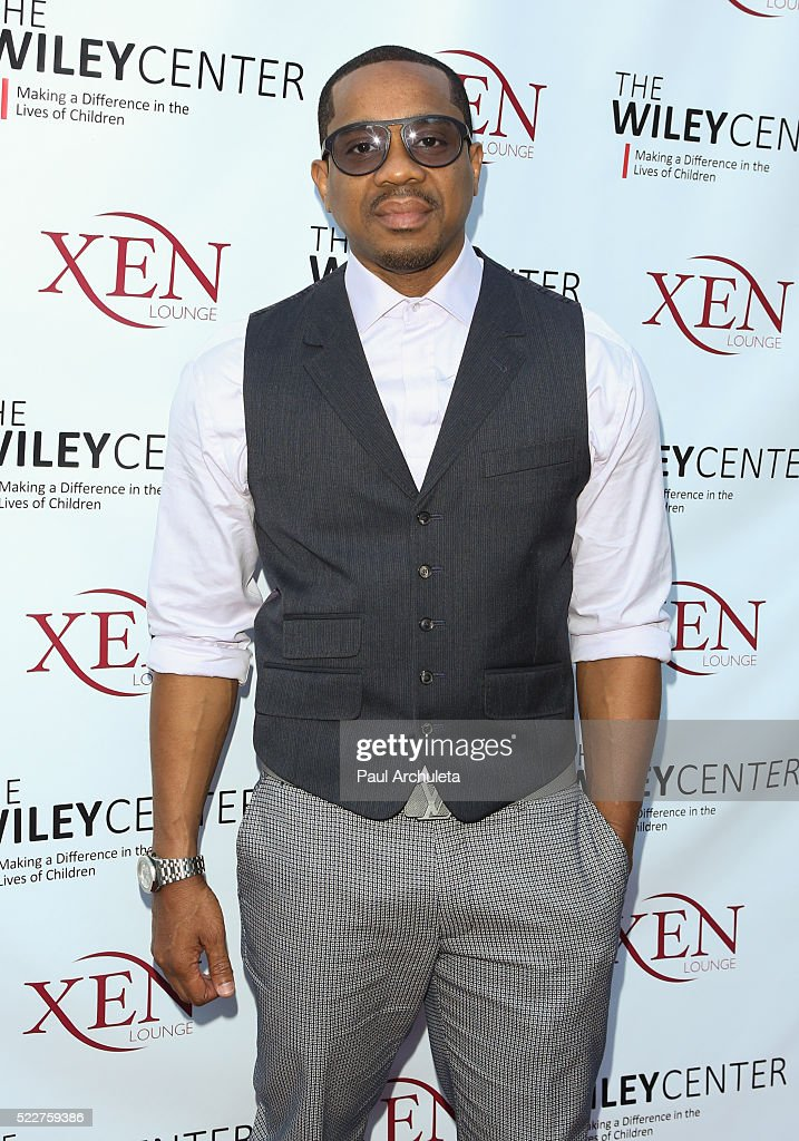 Actor Duane Martin attends the benefit for children with autism at Xen Lounge on April 17, 2016 in Studio City, California.