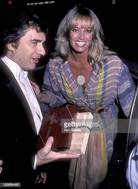 Actor Dudley Moore and actress Susan Anton attend Dudley Moore's Piano Recital on June 6 1983 at Carnegie Hall in New York City