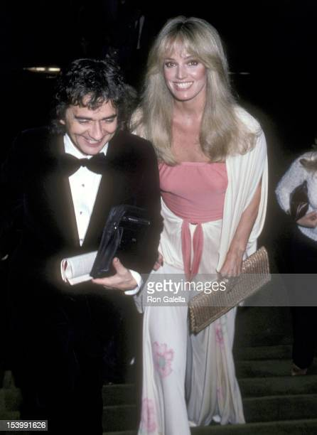 Actor Dudley Moore and actress Susan Anton attend the American Ballet Theatre's Opening Night Performance of LA Bayadere on January 26 1981 at the...