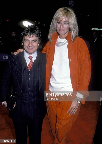 Actor Dudley Moore and Actress Susan Anton attend the Missing New York City Premiere on February 11 1982 at the Beekman Theater in New York City