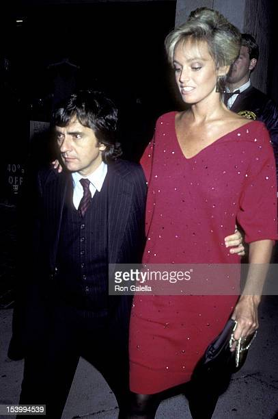 """Actor Dudley Moore and actress Susan Anton attend the """"Never Say Never Again"""" Premiere Party on October 10, 1983 at the Westwood Marquis Hotel in..."""