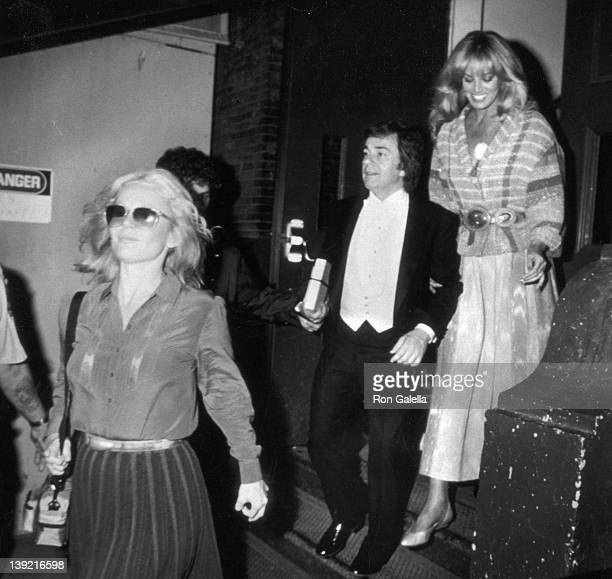 Actor Dudley Moore and actresses Susan Anton and Tuesday Weld attend Dudley Moore Concert Performance on June 6 1983 at Carnegie Hall in New York City