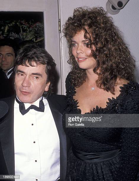 Actor Dudley Moore and wife Brogan Lane attend the 61st Annual Academy Awards After Party Hosted by Irving Swifty Lazar on March 29 1989 at Spago in...