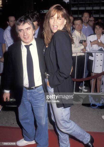 Actor Dudley Moore and wife Brogan Lane attend the Alien 3 Century City Premiere on May 19 1992 at Cineplex Odeon Century Plaza Cinemas in Century...