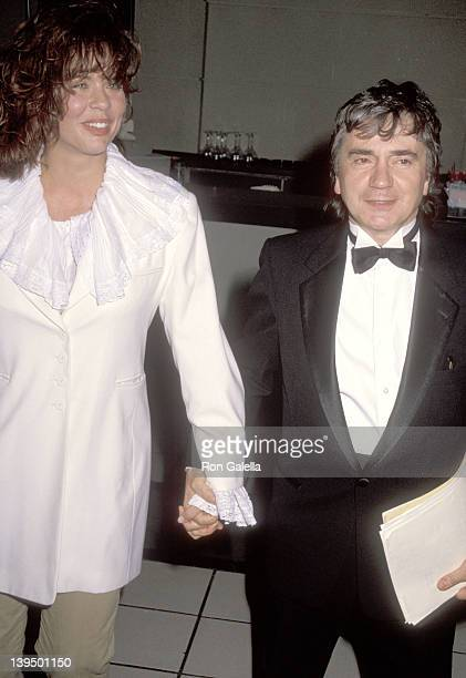 Actor Dudley Moore and wife Brogan Lane attend the British Academy of Films and Television Los Angeles First Annual Britannia Award Salute to Michael...