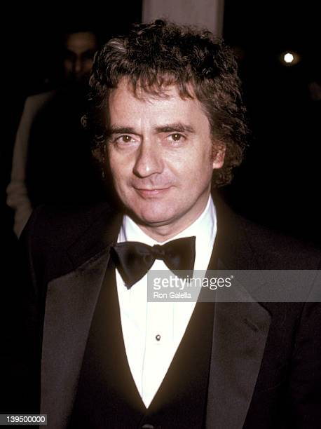 Actor Dudley Moore attends the 11th Annual American Film Institute Lifetime Achievement Award Salute to John Huston on March 3 1983 at Beverly Hilton...