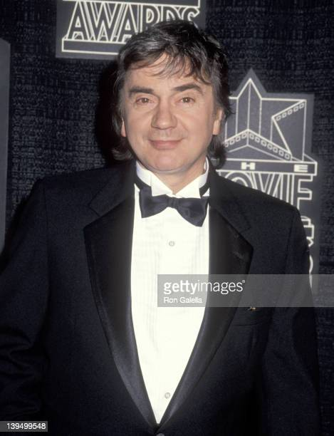 Actor Dudley Moore attends the First Movie Awards on January 30 1991 at Universal Amphitheatre in Universal City California