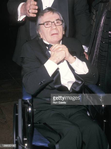 Actor Dudley Moore attends the Manhattan Theatre Club's 2001 Spring Gala on May 14 2001 at New York Hilton Hotel in New York City
