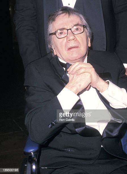 Actor Dudley Moore attends the Manhattan Theatre Club's 2001 Spring Gala on May 14, 2001 at New York Hilton Hotel in New York City.