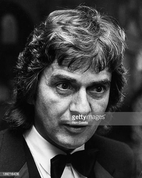Actor Dudley Moore attends the premiere party for Six Weeks on December 15 1982 at the New York Hilton Hotel in New York City