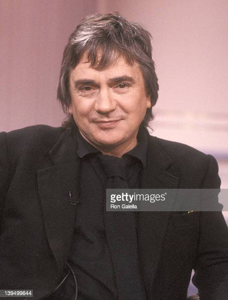 Actor Dudley Moore attends the Taping of The Sally Jessy Raphael Show on March 20 1991 at Unitel Studios in New York City