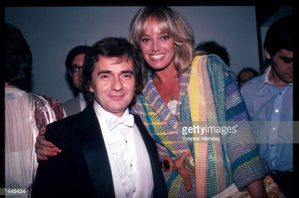Actor Dudley Moore stands with actress Susan Anton June 1983 in New York City Moore and Anton had a relationship in the early 1980s