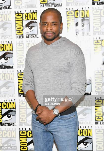 Actor Dule Hill at the 'Psych' Press Line during ComicCon International 2017 at Hilton Bayfront on July 21 2017 in San Diego California