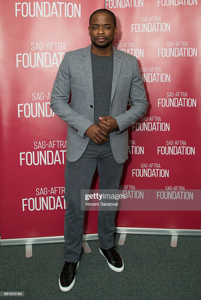 Actor Dule Hill attends SAG-AFTRA Foundation's Conversations with 'Doubt' at SAG-AFTRA Foundation Screening Room on January 9, 2017 in Los Angeles, California.