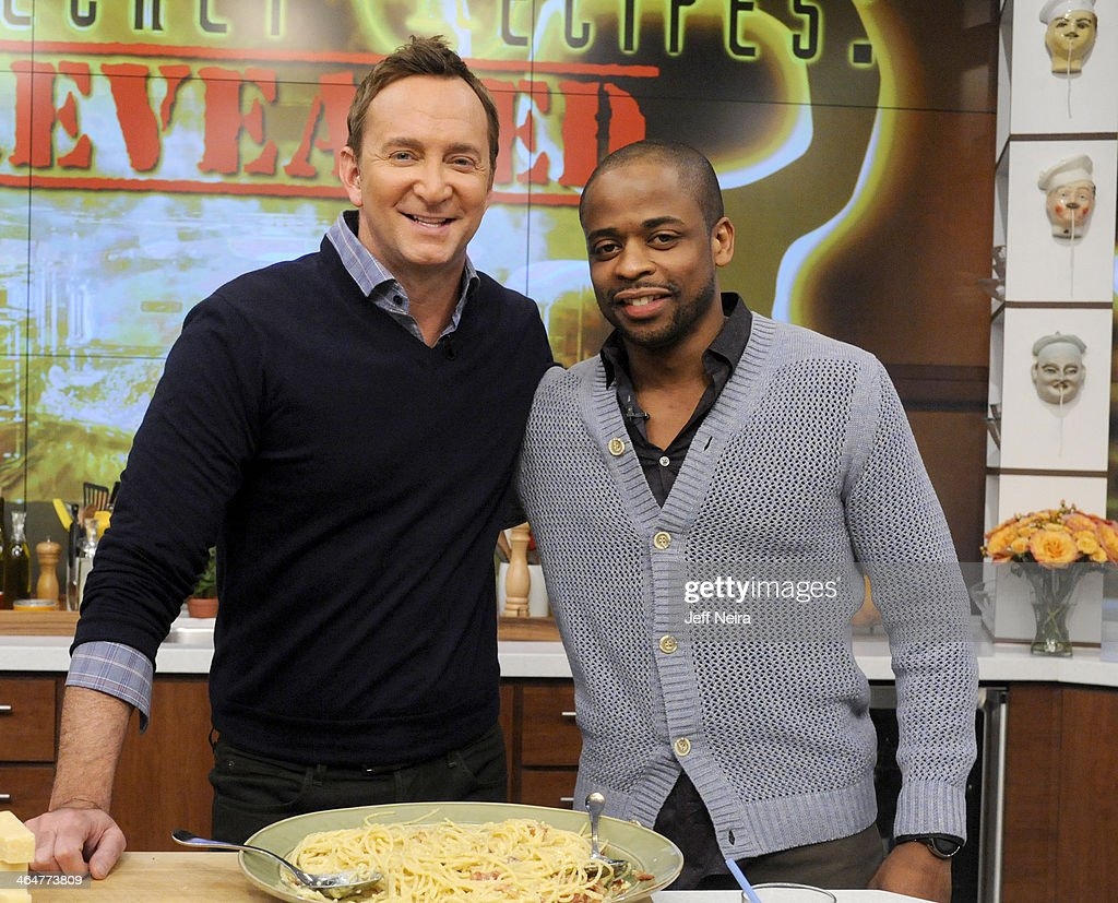 THE CHEW - Actor Dule HIll is the guest Monday, January 27, 2014 on ABC's 'The Chew.' 'The Chew' airs MONDAY - FRIDAY (1-2pm, ET) on the ABC Television Network. HILL
