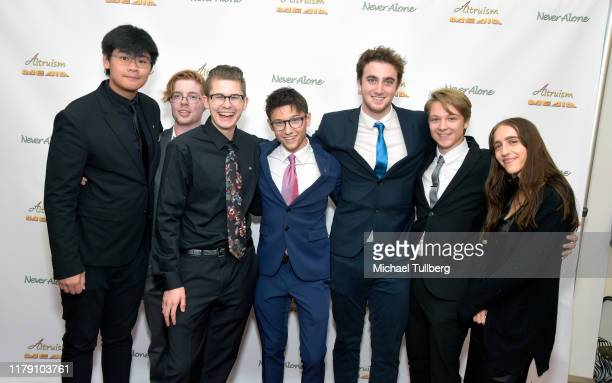 """Actor Duncan Anderson and guests attend the premiere of the film """"Never Alone"""" at Arena Cinelounge on October 04, 2019 in Hollywood, California."""