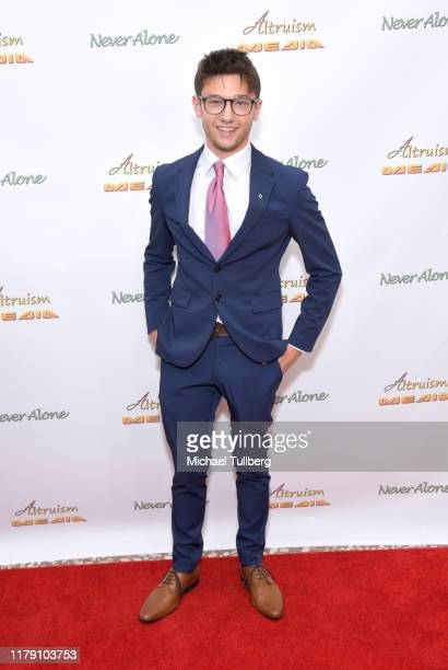 """Actor Duncan Anderson attends the premiere of the film """"Never Alone"""" at Arena Cinelounge on October 04, 2019 in Hollywood, California."""