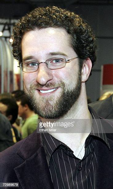 Actor Dustin Diamond walks through the Adult Video News Adult Entertainment Expo at the Sands Expo Center January 12 2007 in Las Vegas Nevada The...