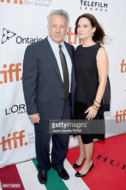 Actor Dustin Hoffman and Lisa Hoffman attend the Boychoir premiere during the 2014 Toronto International Film Festival at Roy Thomson Hall on...